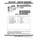 Sharp AR-M550 (serv.man22) Service Manual