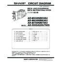 Sharp AR-M550 (serv.man5) Service Manual