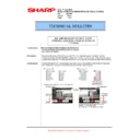 Sharp AR-M550 (serv.man67) Technical Bulletin