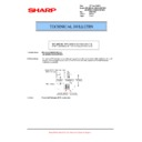 Sharp AR-M550 (serv.man70) Technical Bulletin