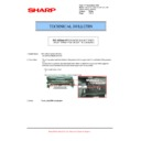Sharp AR-M550 (serv.man76) Technical Bulletin