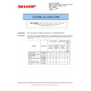Sharp AR-M550 (serv.man77) Technical Bulletin