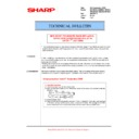 Sharp AR-M550 (serv.man80) Technical Bulletin