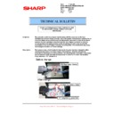 Sharp AR-M550 (serv.man84) Technical Bulletin
