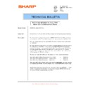 Sharp AR-M550 (serv.man90) Technical Bulletin