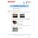 Sharp AR-M550 (serv.man97) Technical Bulletin