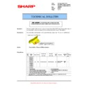 Sharp AR-M620 (serv.man123) Technical Bulletin