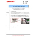 Sharp AR-M620 (serv.man130) Technical Bulletin