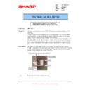 Sharp AR-M620 (serv.man133) Technical Bulletin