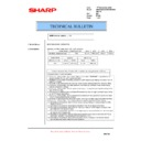 Sharp AR-M620 (serv.man139) Technical Bulletin