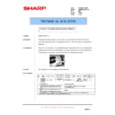 Sharp AR-M620 (serv.man154) Technical Bulletin
