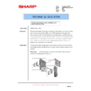 Sharp AR-M620 (serv.man155) Technical Bulletin