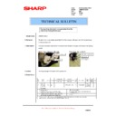 Sharp AR-M620 (serv.man166) Technical Bulletin