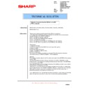 Sharp AR-M620 (serv.man170) Technical Bulletin
