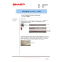 Sharp AR-M620 (serv.man176) Technical Bulletin