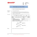 Sharp AR-M620 (serv.man181) Technical Bulletin