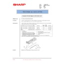 Sharp AR-M620 (serv.man184) Technical Bulletin