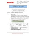 Sharp AR-M700 (serv.man106) Technical Bulletin