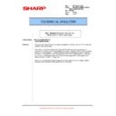 Sharp AR-M700 (serv.man109) Technical Bulletin