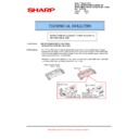 Sharp AR-M700 (serv.man111) Technical Bulletin