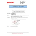 Sharp AR-M700 (serv.man112) Technical Bulletin
