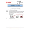 Sharp AR-M700 (serv.man113) Technical Bulletin