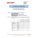 Sharp AR-M700 (serv.man115) Technical Bulletin