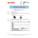 Sharp AR-M700 (serv.man117) Technical Bulletin