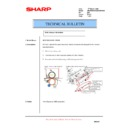 Sharp AR-M700 (serv.man134) Technical Bulletin