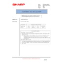 Sharp AR-M700 (serv.man142) Technical Bulletin