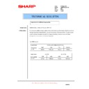 Sharp AR-M700 (serv.man147) Technical Bulletin