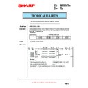 Sharp AR-M700 (serv.man152) Technical Bulletin
