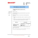 Sharp AR-M700 (serv.man153) Technical Bulletin