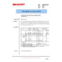 Sharp AR-M700 (serv.man158) Technical Bulletin