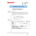 Sharp AR-M700 (serv.man163) Technical Bulletin