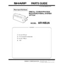 Sharp AR-NB2A (serv.man3) Parts Guide