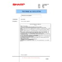 Sharp AR-NB2N (serv.man25) Technical Bulletin