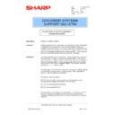 Sharp AR-NC3D (serv.man15) Technical Bulletin