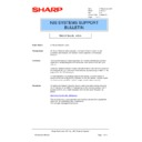 Sharp AR-NC3D (serv.man16) Technical Bulletin
