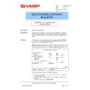 Sharp AR-NC3D (serv.man18) Technical Bulletin