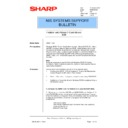 Sharp AR-NC3D (serv.man19) Technical Bulletin