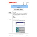 Sharp AR-NC3D (serv.man23) Technical Bulletin