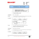 Sharp DM-2000 (serv.man102) Technical Bulletin
