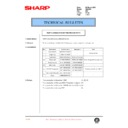 Sharp DM-2000 (serv.man105) Technical Bulletin