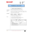 Sharp DM-2000 (serv.man107) Technical Bulletin