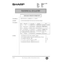 Sharp DM-2000 (serv.man112) Technical Bulletin