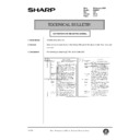 Sharp DM-2000 (serv.man115) Technical Bulletin