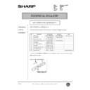 Sharp DM-2000 (serv.man120) Technical Bulletin