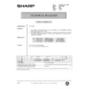 Sharp DM-2000 (serv.man134) Technical Bulletin