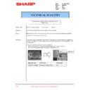 Sharp DM-2000 (serv.man25) Technical Bulletin